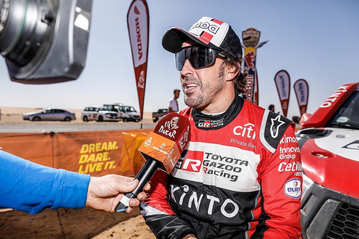 """Dakar, Alonso: """"Il 2° posto è ben di più di quanto sperassi"""""""