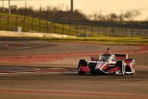 Fotos: los IndyCar en la pista... y una preocupación
