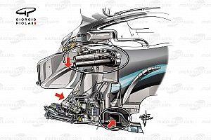 Técnica Mercedes: descubramos algunos secretos del W11