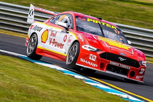 Sandown 500: McLaughlin snatches co-driver pole