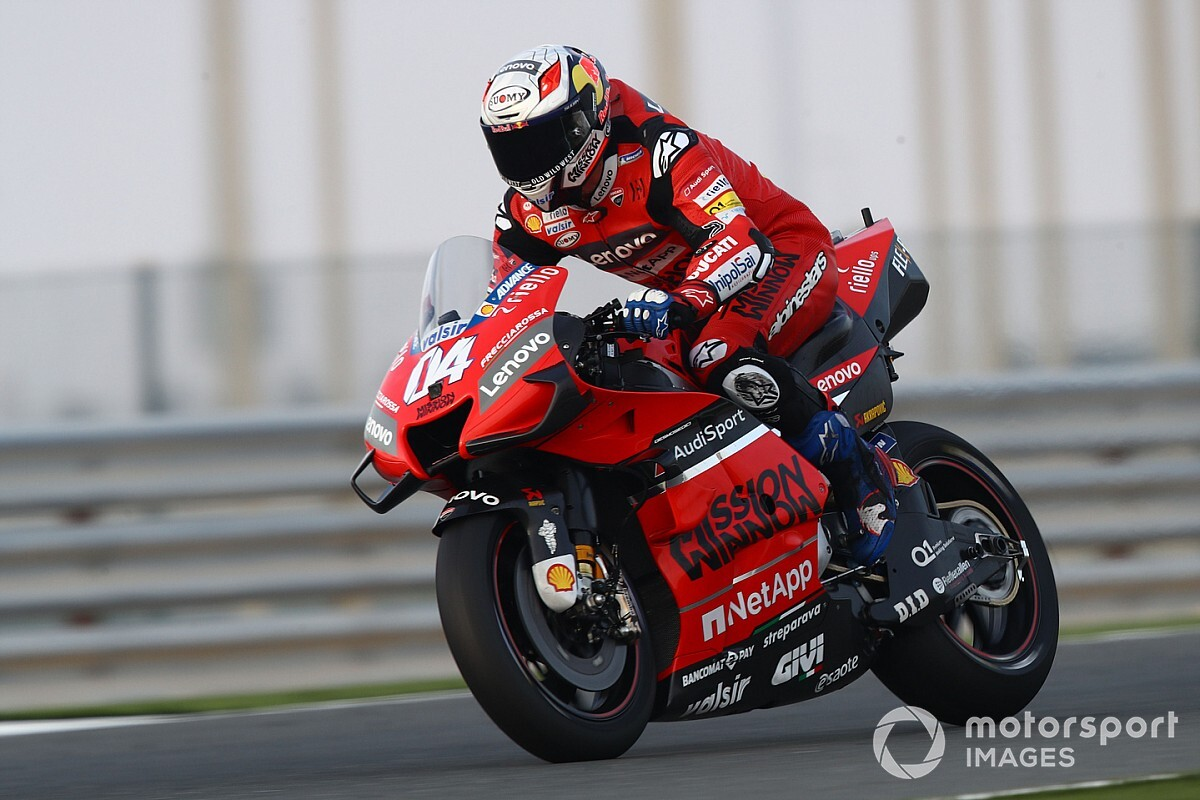 """Dovizioso: """"La pretemporada ha sido dura por el nuevo neumático"""""""