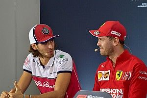 "Giovinazzi ""really happy"" to have been on Ferrari shortlist"