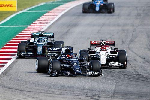 F1公式サイト、角田裕毅のアメリカGPを称賛。F1昇格以来最高のレース?