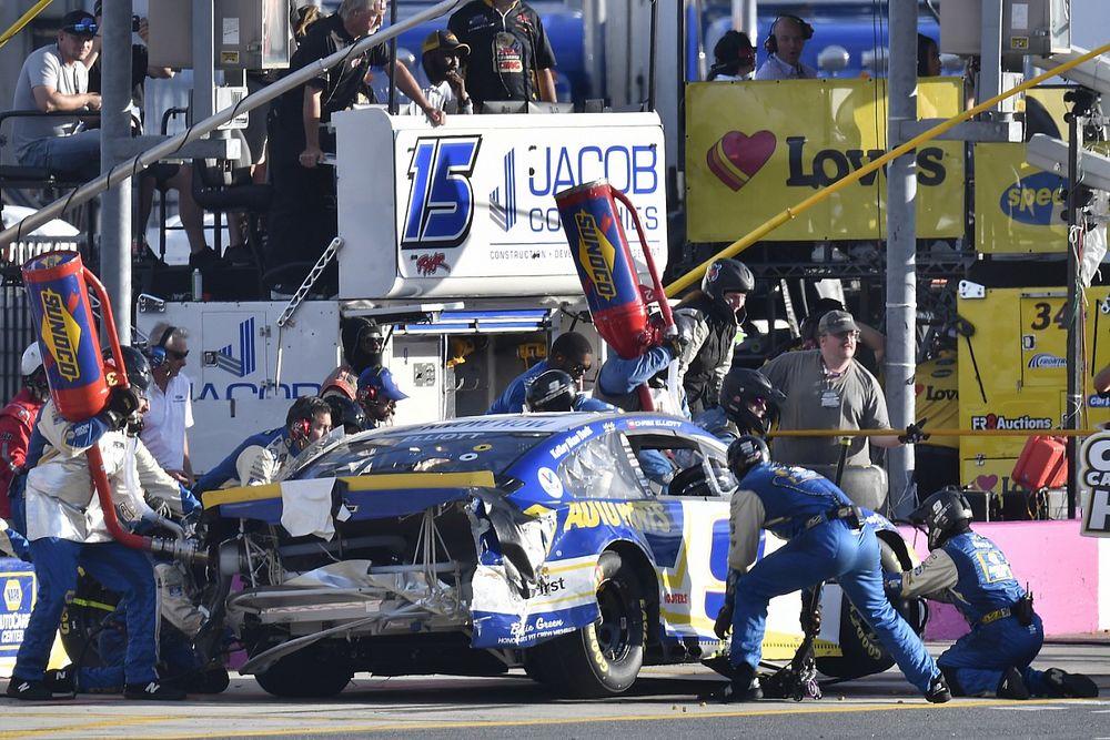 NASCAR's explanation of no-call on Elliott bumper falls short