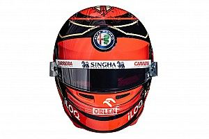 Ezt a sisakot fogja használni Räikkönen a Forma-1-ben a 2021-es szezon alatt
