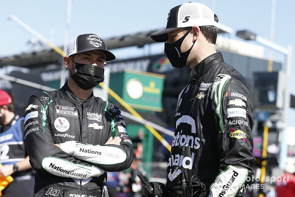 """Kyle Larson """"as fresh as ever"""" despite missing most of 2020"""