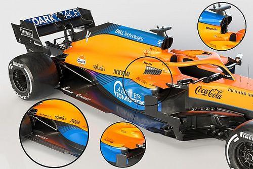 Технический анализ: 3 самых важных детали нового болида McLaren