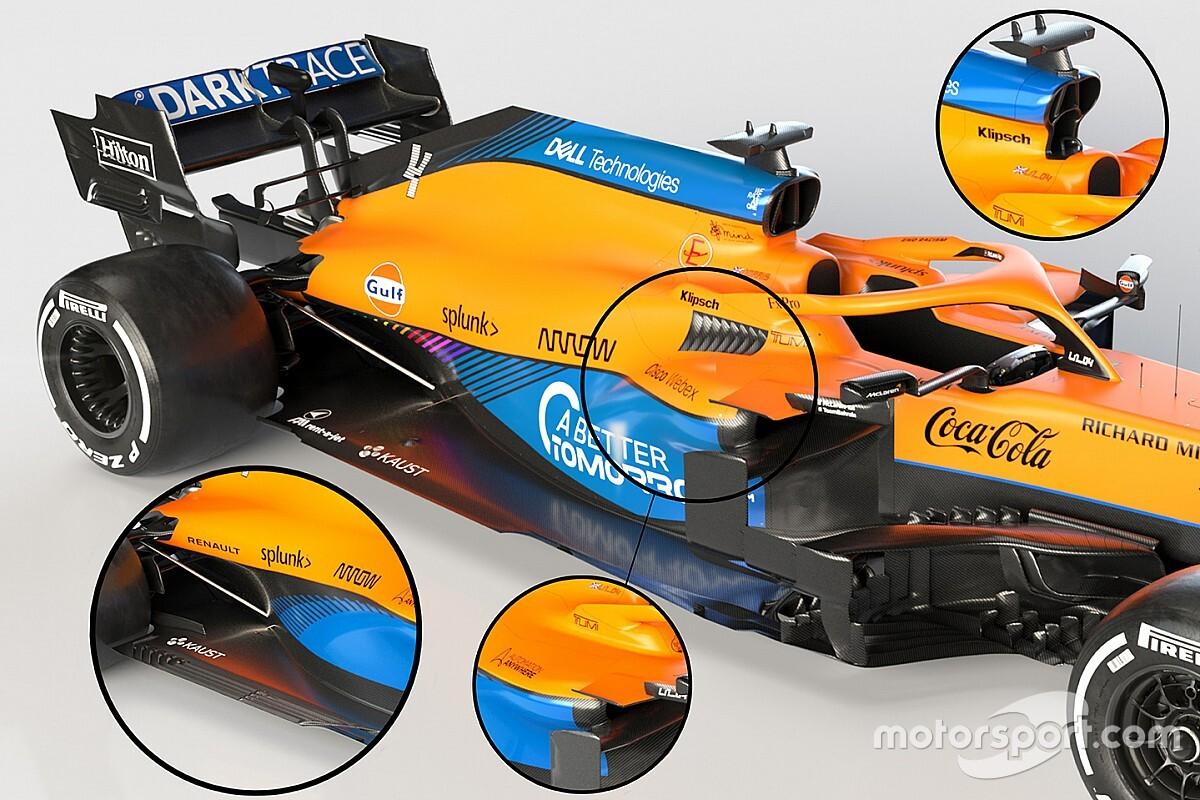 VIDEO: Eerste technische analyse van de nieuwe McLaren MCL35M - Motorsport.com Nederlands