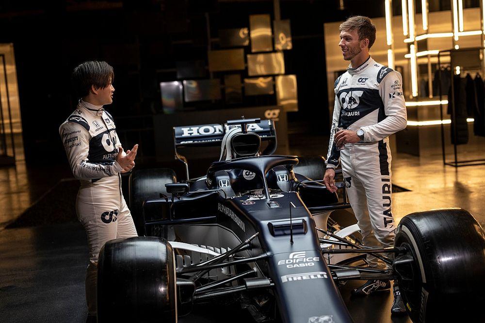 AlphaTauri renueva a Gasly y Tsunoda para la F1 2022