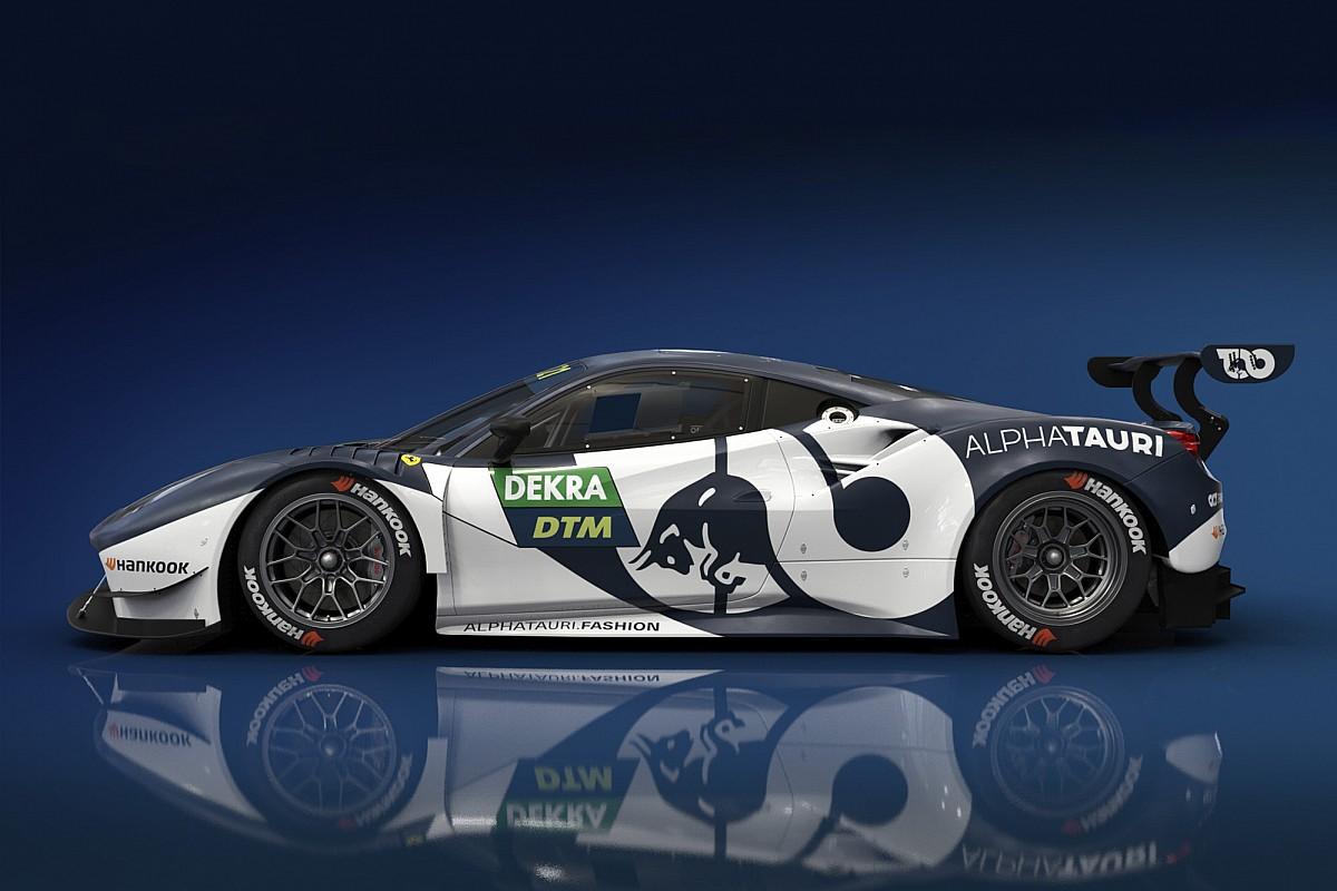 Red Bull показала ливрею машины Элбона в DTM