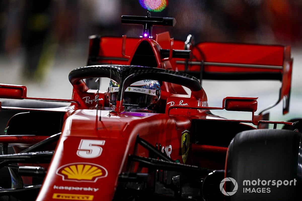 """Vettel: """"Sorpreso dell'eliminazione, ma mancava potenza"""""""