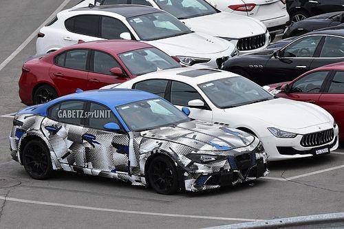 La Nuova Maserati GranTurismo continua a travestirsi da Giulia