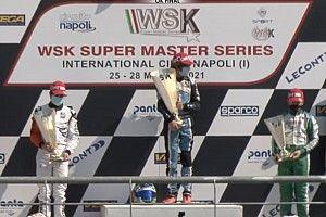 Rafa Câmara é 2º em Sarno e amplia liderança no WSK Super Masters Series
