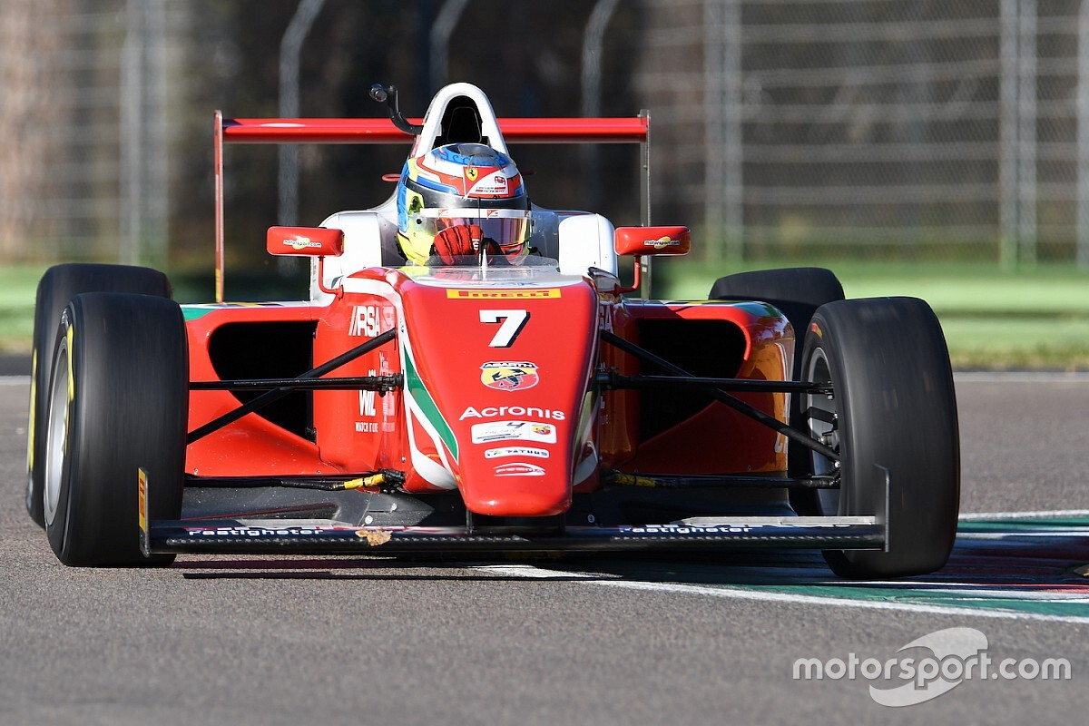 F4, Imola: Beganovic in una Gara 2 segnata dalla safety car
