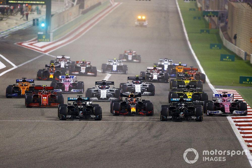 Formel 1 Sachir 2020: Die animierte Rundentabelle