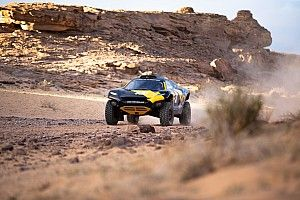 Emotional Scheider completes first Extreme E course recce
