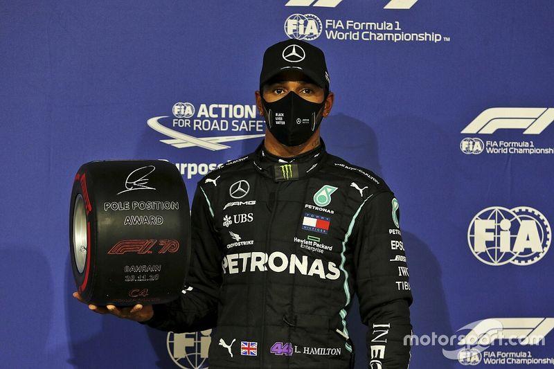 Startopstelling voor de Formule 1 Grand Prix van Bahrein