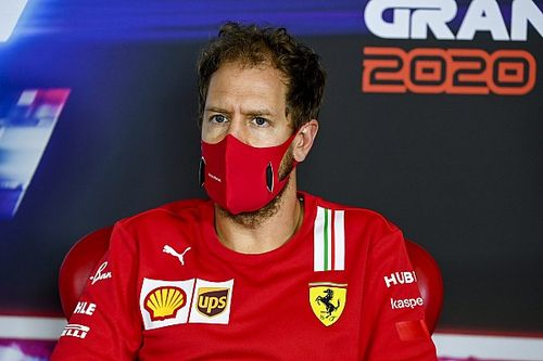 "Vettel admits to ""failure"" in reaching goals with Ferrari"