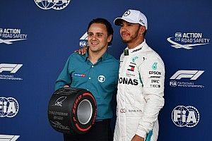 Hamilton lenyűgöző pole köre a Brazil Nagydíjról: videó