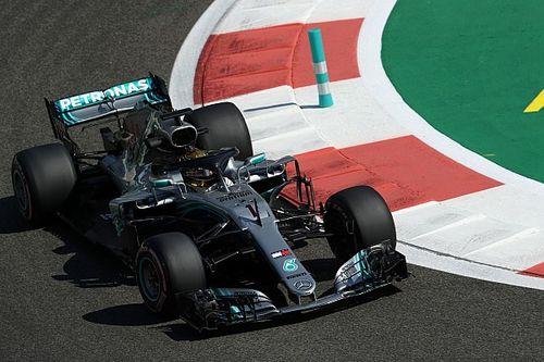 Mercedes: Beschadigde motor van Hamilton ziet er normaal uit