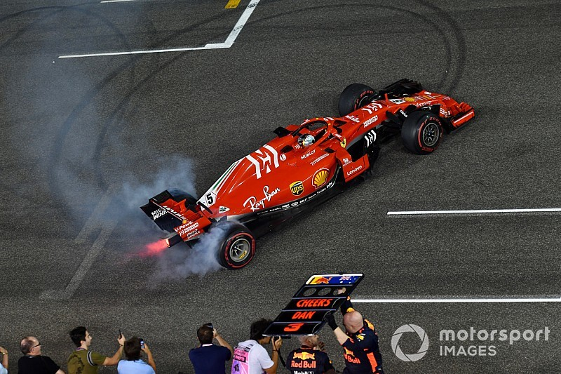 Arrivabene: Son yarışlarda gerçek Vettel'i gördük