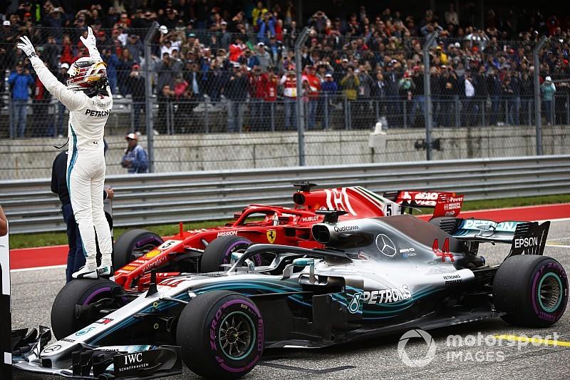 Hamilton pole köre, amivel legyőzte a Ferrarikat Austinban: videó