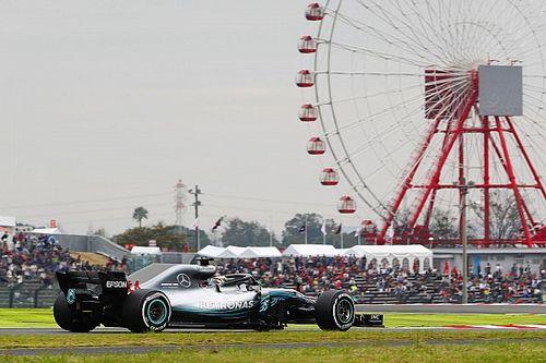 Volledige uitslag eerste vrije training van de Grand Prix van Japan