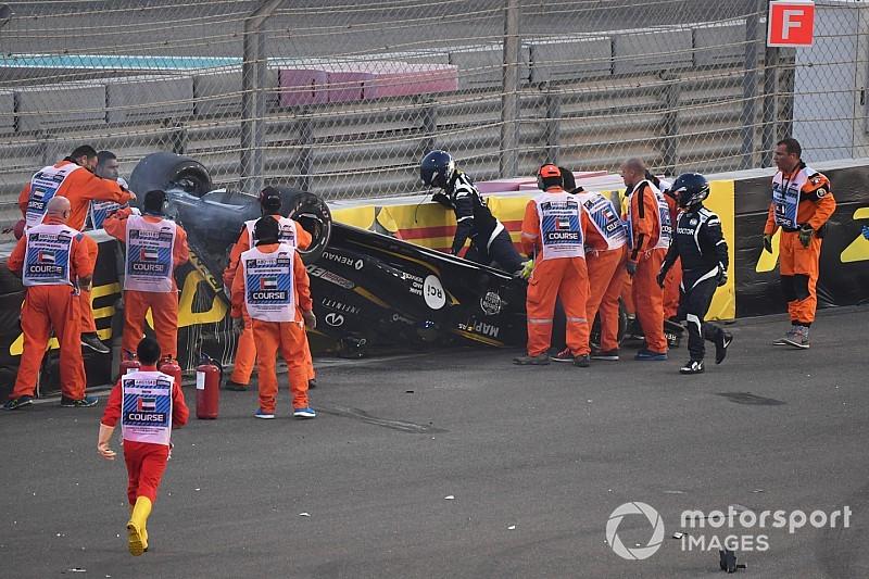 VÍDEO: O incrível acidente de Hulkenberg em Abu Dhabi