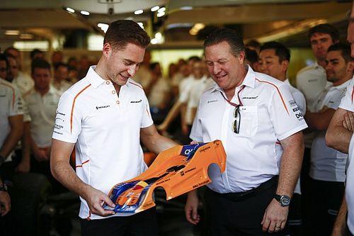 """Vandoorne na laatste F1-race: """"Heb gevochten tot het einde"""""""