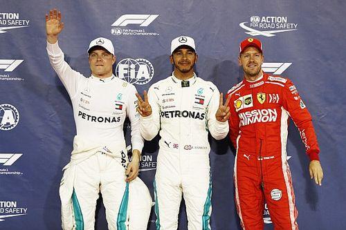 La grille de départ du GP d'Abu Dhabi