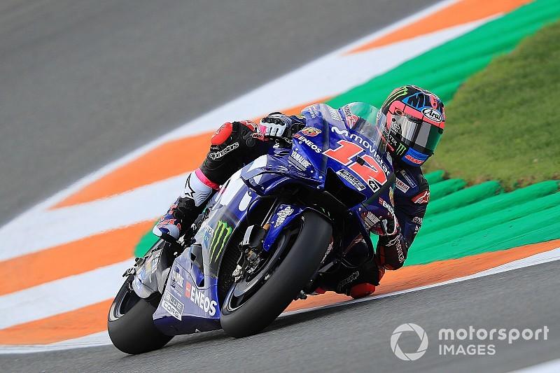 Viñales lidera primeiro dia de teste à frente de Márquez e Rossi