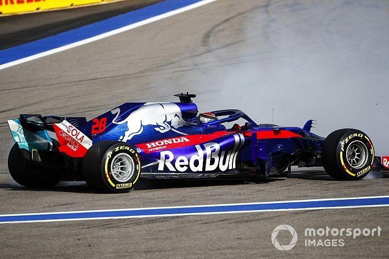 Toro Rosso explica las causas de su extraño doble abandono