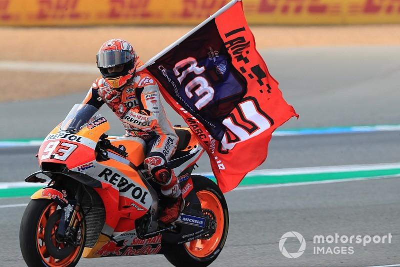 Márquez ya es el quinto piloto con más victorias de la historia