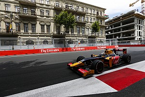FIA F2 Отчет о квалификации Джовинацци завоевал свой первый поул в GP2