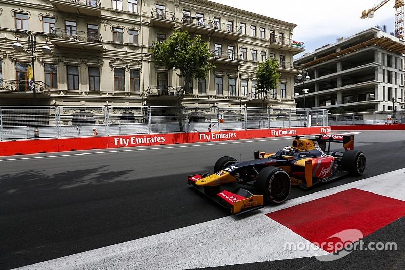 Джовинацци завоевал свой первый поул в GP2