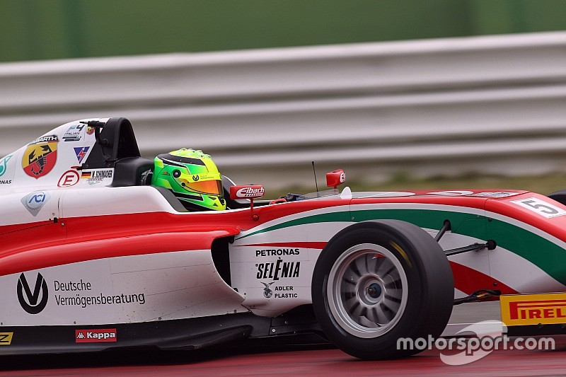Marcos Siebert e Mick Schumacher in pole position a Misano