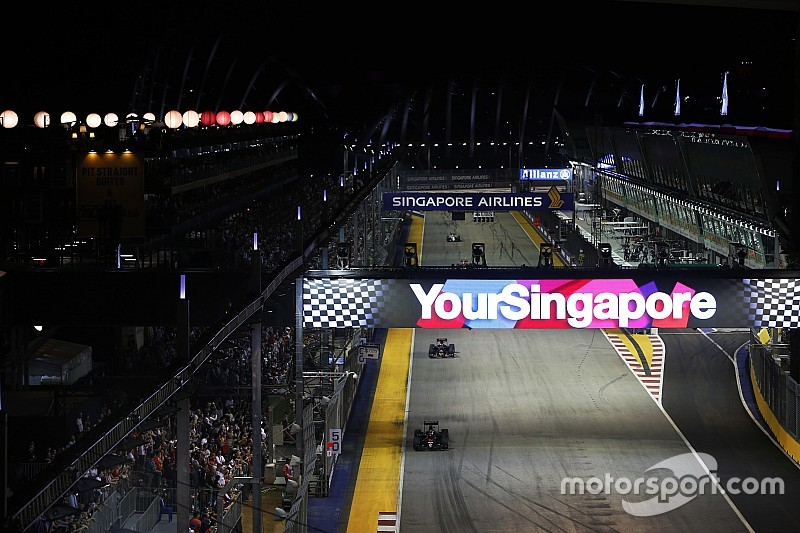 F1 looking to add more street races in Asia