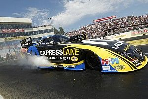 Force, Hagan and Line Earn No. 1 qualifying positions at NHRA Kansas Nationals
