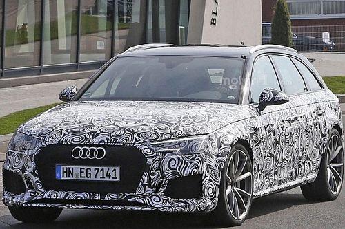 Spyshots - La nouvelle Audi RS4 se prépare