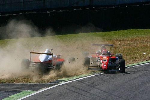 Fotogallery: ecco l'incidente che ha coinvolto Mick Schumacher al Mugello