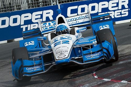 "Pagenaud admits being caught out by ""Toronto Roulette"""