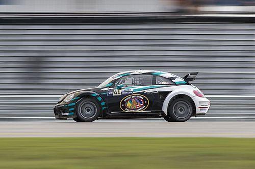 Scott Speed wins Red Bull Global Rallycross MCAS New River I