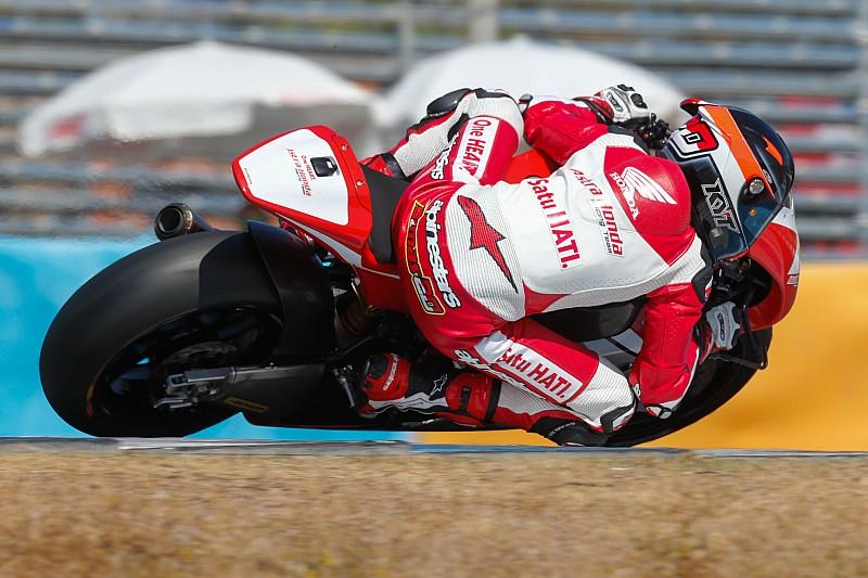 Dimas Ekky start kelima di CEV Moto2