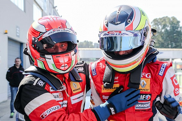 Fabio Francia vince in extremis Gara 1 a Vallelunga