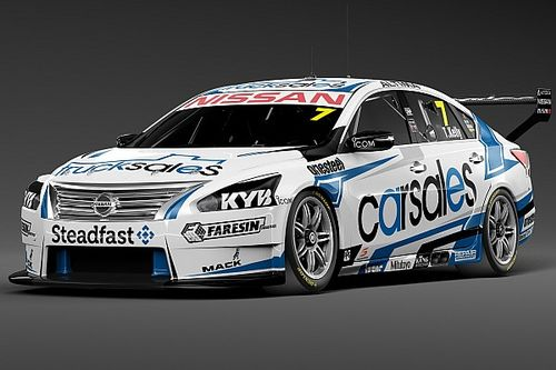 Fresh look for Todd Kelly Nissan V8 at Winton