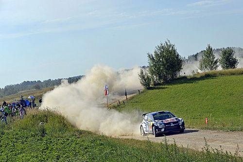 Poland WRC: Mikkelsen leads Paddon after Friday morning