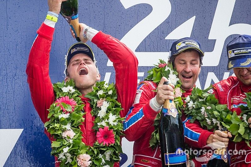 "U.S. Ferrari squad: Le Mans glory ""a dream that came real"""