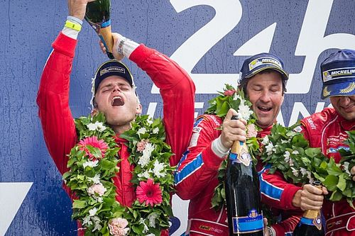 "U.S. Ferrari squad: Le Mans glory ""a dream that came real"""
