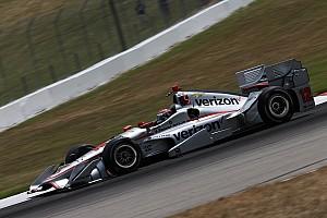 IndyCar Отчет о тренировке Пауэр обновил во второй тренировке рекорд трассы Мид-Огайо