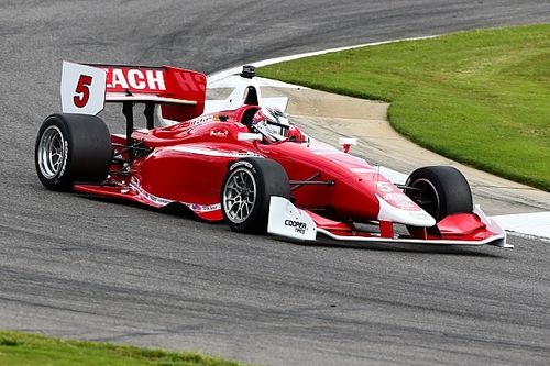 Veach edges Indy Lights pole for Belardi